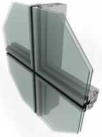 curtain wall systems 3d model