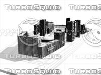 3d model urban