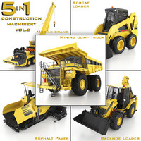 3d construction machinery 5 1