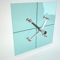 glass spider 3d model