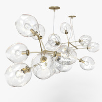 Lindsey Adelman 18-globe Branching Bubble Chandelier