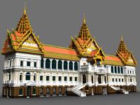 Thailand Chakri Maha Prasat Hall