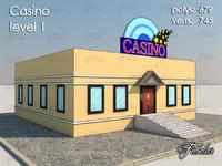 casino level 1 3d max