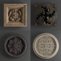 3d model decor restoration hardware