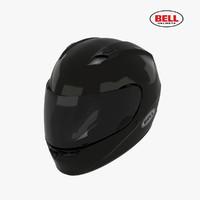 3d bell qualifier helmet model