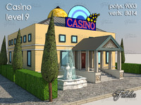 3d casino level 9 model