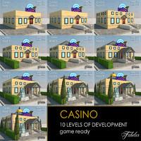 3d casino 10 levels model