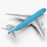 boeing 747-200b klm max