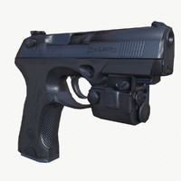 3d model ready beretta px4 storm