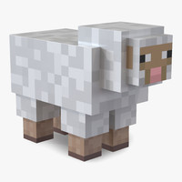 fbx minecraft sheep