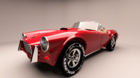 3d model old cobra 1963