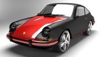 porsche 911 1968 3d 3ds