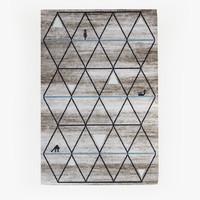 calligaris gava carpet rug 3d model