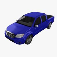 hilux 3D models