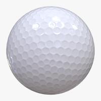 3d max golf ball