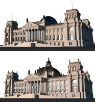 3d reichstag 1916 2016 model