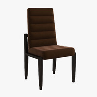 3d model italian medea union chair