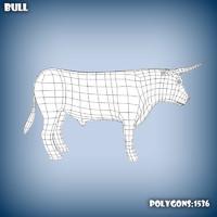 Bull base mesh