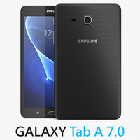 3d samsung galaxy tab 7 model