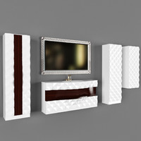 bathroom furniture 3d 3ds