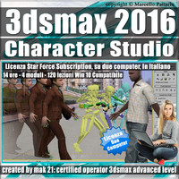 3dsmax 2016 Character Studio Subscription 2 Computer