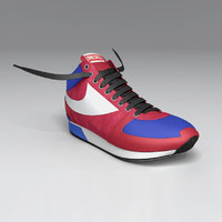 diesel shoe 3d model