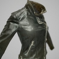 3d shiny leather clothing