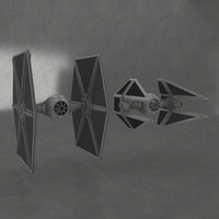 fbx tie fighter