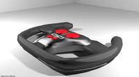 3d model steering racing
