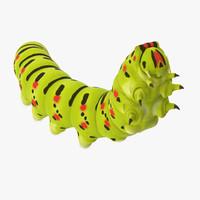 climbing caterpillar 3d model