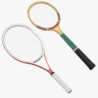 c4d tennis rackets