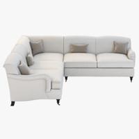sofa joybird robin 3d 3ds