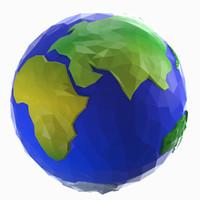3d model earth style