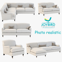 3d model sofa joybird robin
