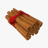 cinnamon sticks obj