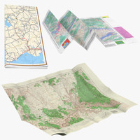 3d model of maps