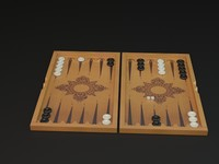 backgammon 3d 3ds
