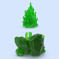 3d model kryptonite set