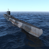 c4d ww2 german u-boat