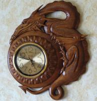 drago-clock 3D model STL CNC
