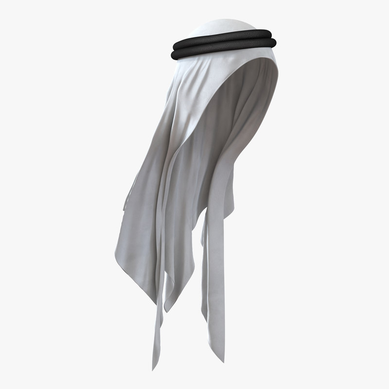 Traditional Arabic Hat 3d model 01.jpg