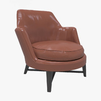 3d flexform guscio chair