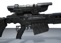 3d 3ds sniper rifle