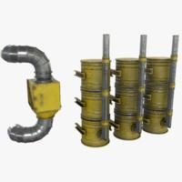 3d model air filter