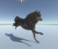 ready wolf animations 3ds