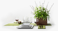 Tulip Centerpiece set
