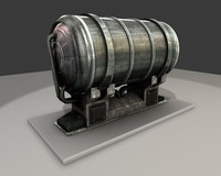 water tank 3d 3ds