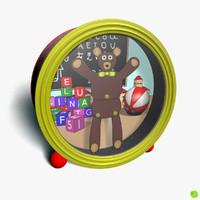 music box bear 3d model
