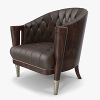 3d elegant armchair model