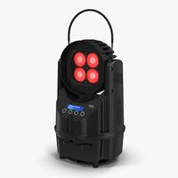 3d portable battery powered luminaire